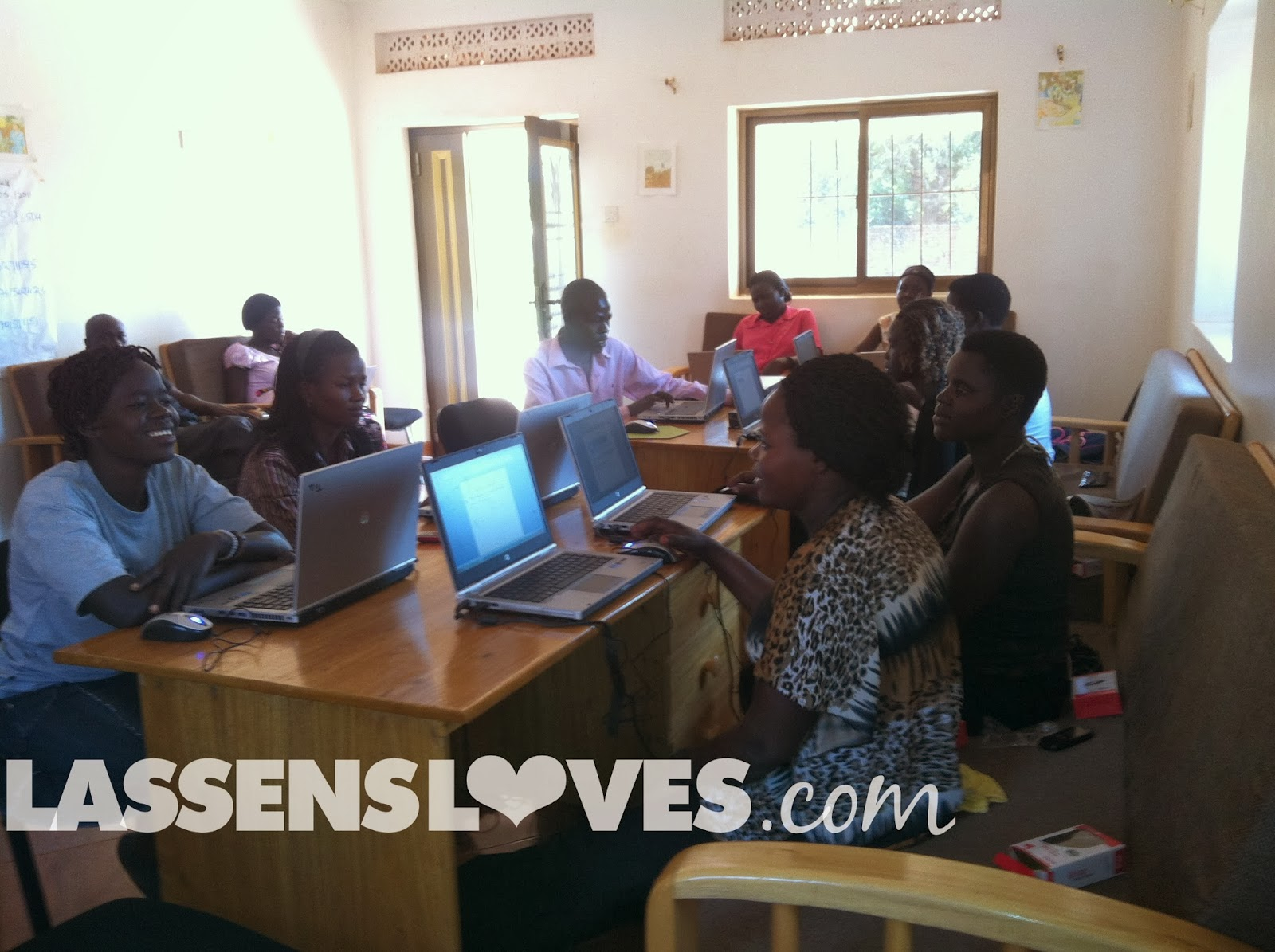 lassensloves.com, Lassen's, Gulu+Uganda, computer+literacy, thrive+gulu