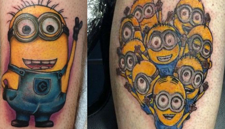 Resultado de imagen de Tatuajes Minions