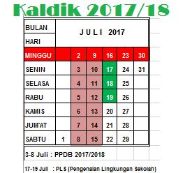 Download Kalender Pendidikan 2017/2018 sd smp sma smk img