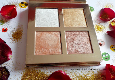 Revolution Face Quad highlighter review
