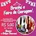 Brecho e feira de garagem dia 07 de abril preços a partir de R$ 5,00