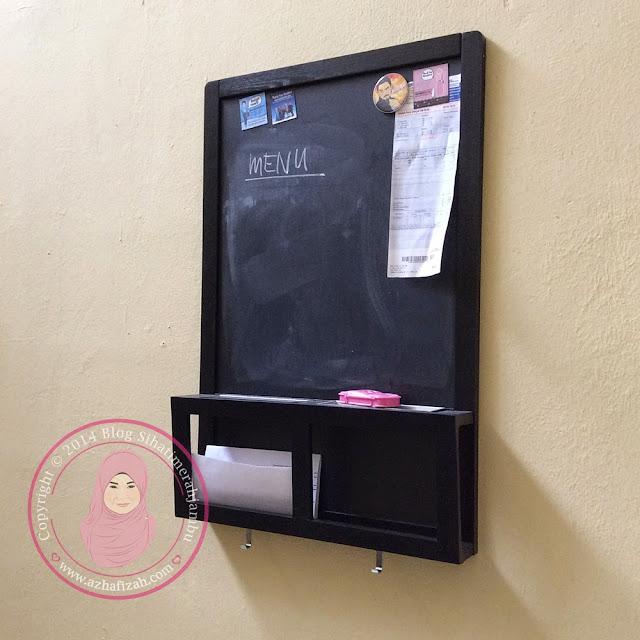 Black Board Hiasan Ruang Makan dan Dapur