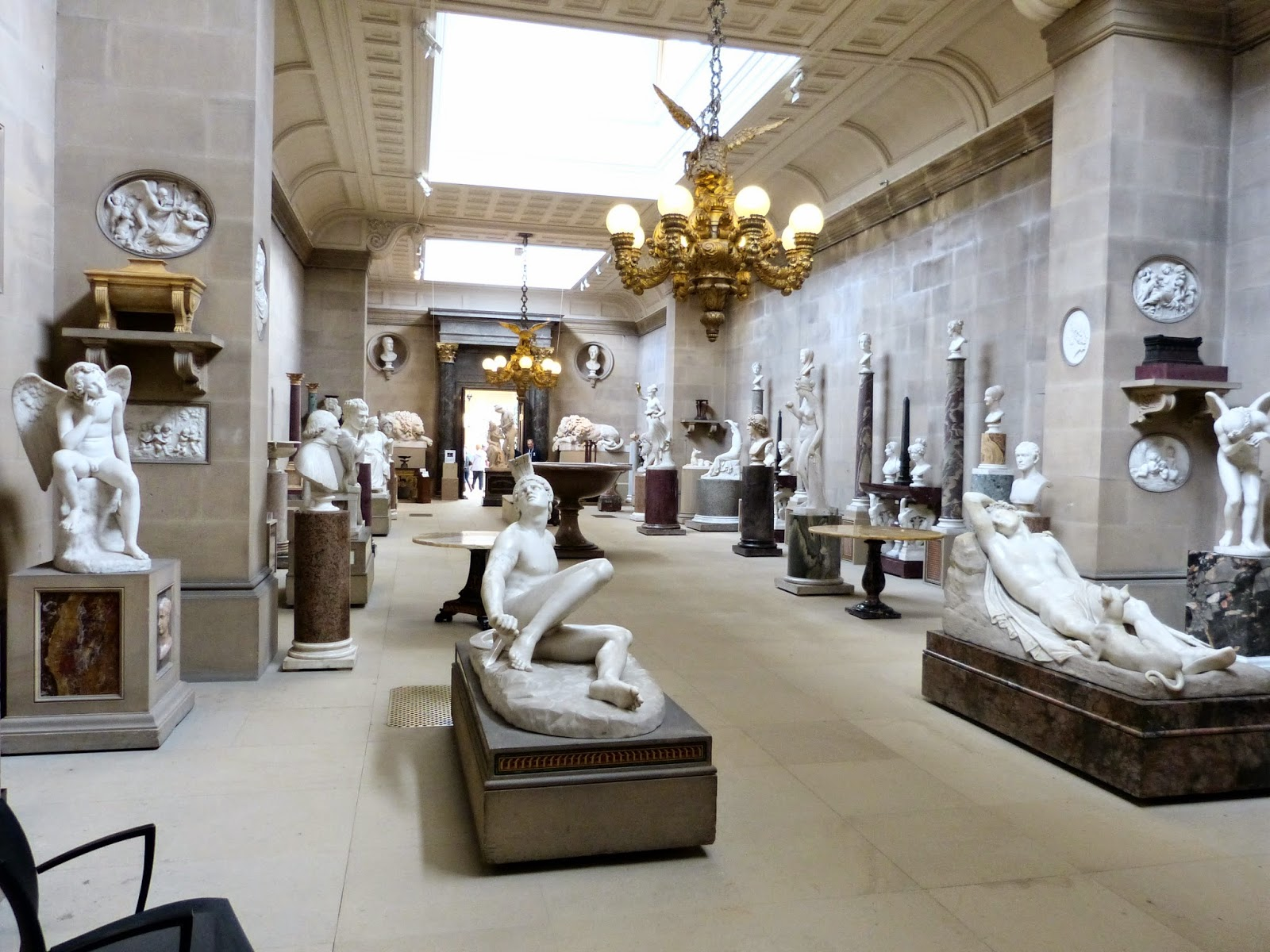 Scultpure Gallery, Chatsworth