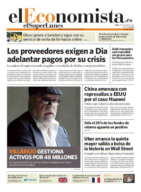 EL SUPERLUNES EL ECONOMISTA 10 DICIEMBRE 2018