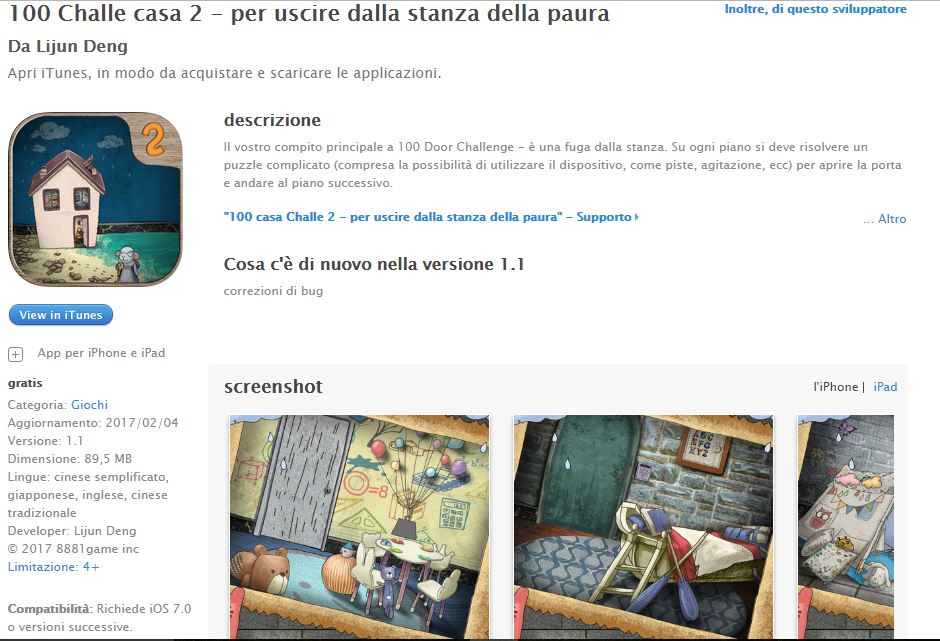 Soluzioni Escape Game 100 rooms 2