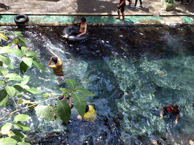 Sensasi Segar Berenang di Umbul Cokro