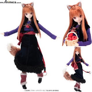 Doll Holo Hybrid Active Figure Spice and Wolf