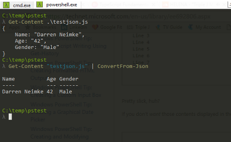 Neimke: Using Powershell to work with Json