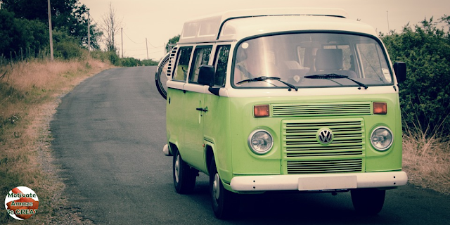 "Featured in the article: ""Benefits Of Going On A Road Trip For Self-Motivation"". vw, van, road trip, route, importance."