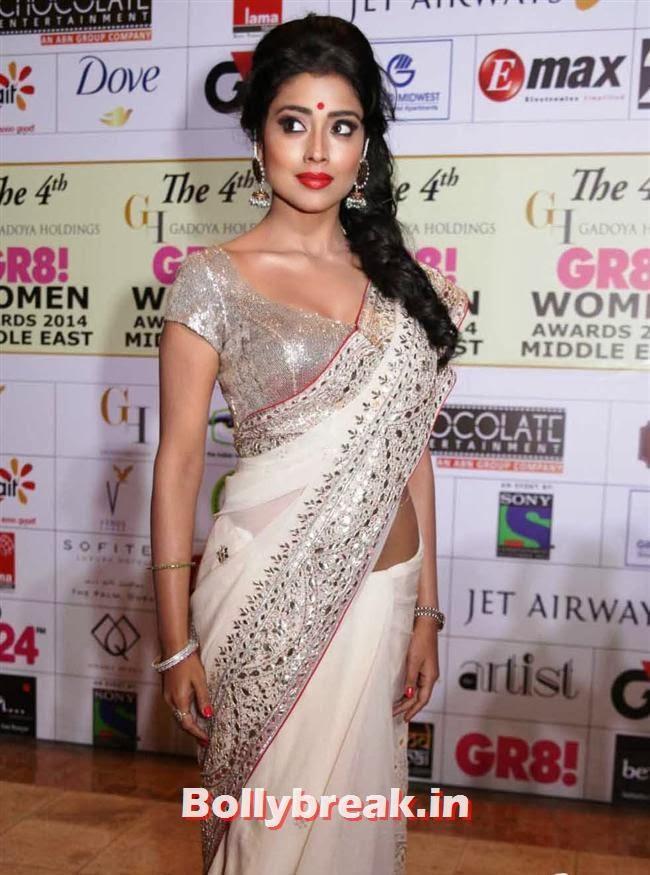 Shriya Saran, Shriya, Kangna, Barkha at 4th GR8 Women Awards 2014