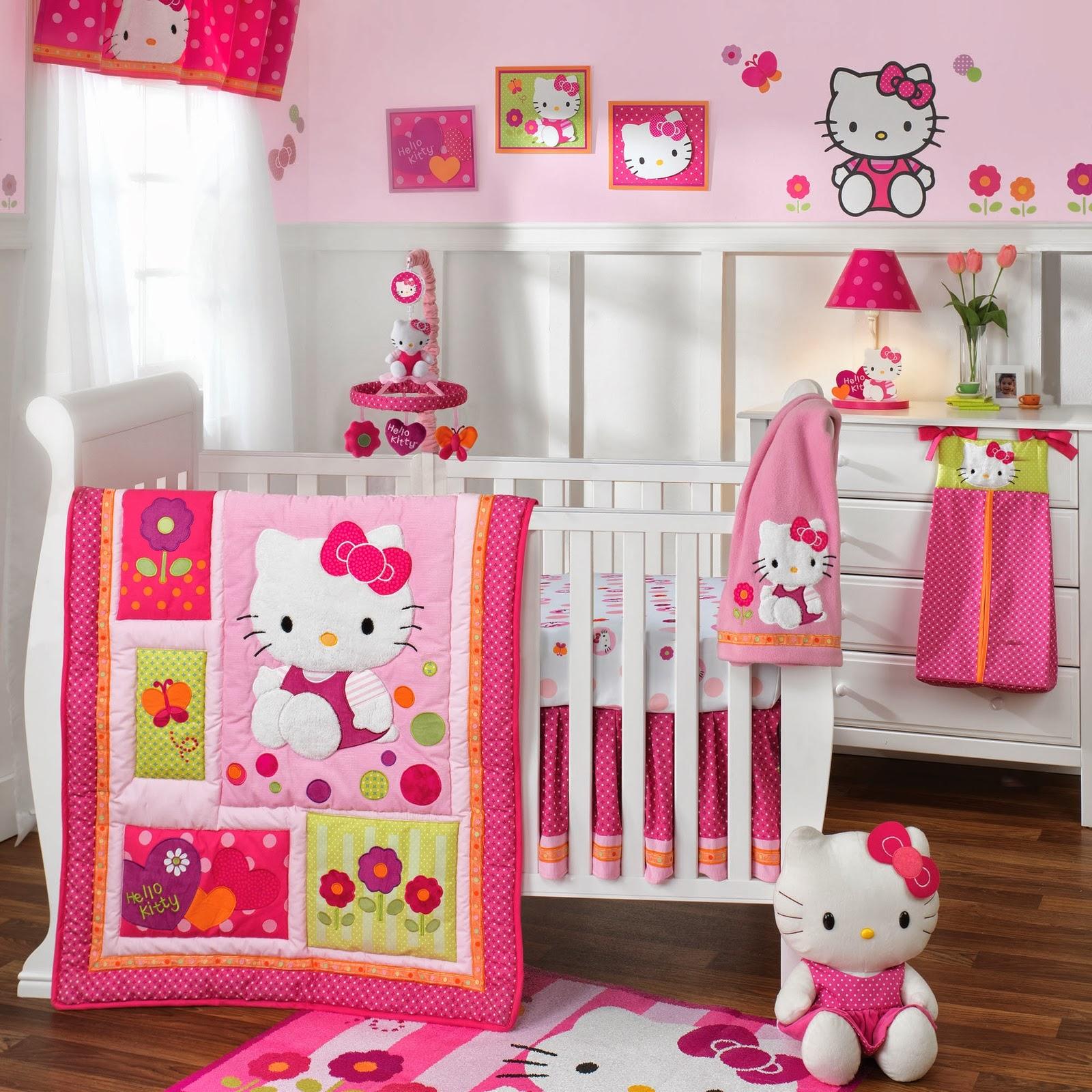 contoh desain kamar tidur hello kitty | sobat interior rumah