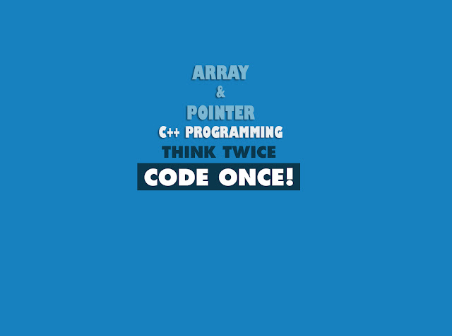 Gambar Array & Pointer By Xcodeplus