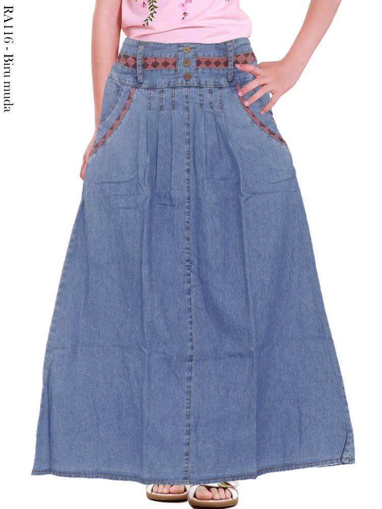 Ra116 Rok Jeans Anak Busana Muslim Murah Terbaru Toko