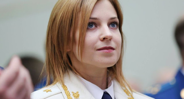 من هي الحسناء الروسية التي شغلت بال السوريين؟