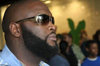 Rick Ross Rapper Facial Hairstyle