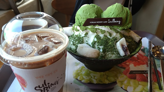 korea south corée du sud nourriture Sulbing 술빈 bingo 빙수