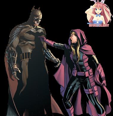 Batman y Spoiler 01