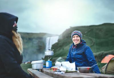 Camper en Islande