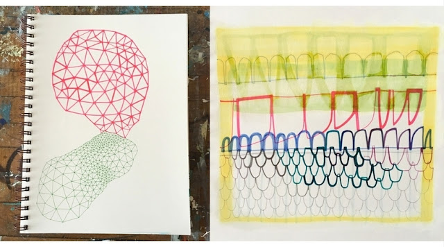 Naomi Taitz Duffy, Sketchbooks, Sketchbook Conversations, Artists, Inspiration, My Giant Strawberry
