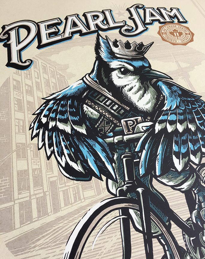 inside the rock poster frame blog mark 5 pearl jam