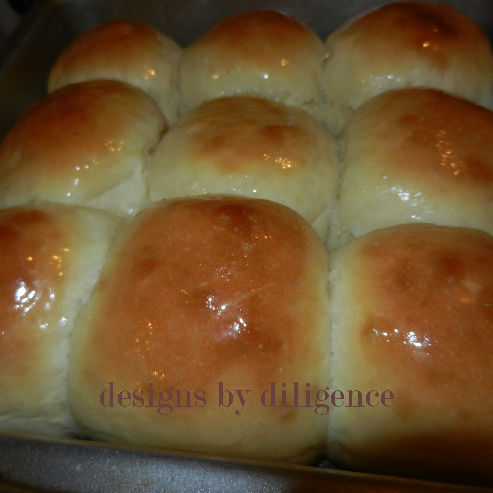 Designs By Diligence Recipe For Frozen Yeast Rolls
