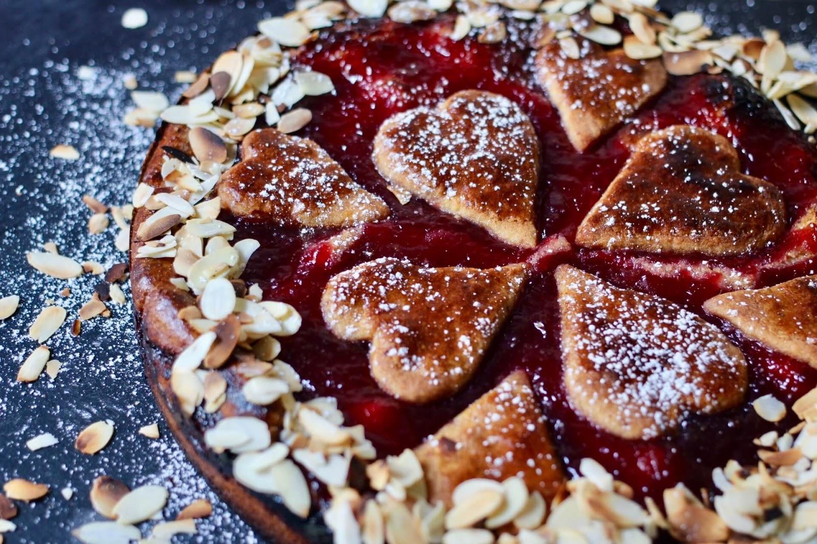 Rezept für eine vegane Linzertorte_Home of happy