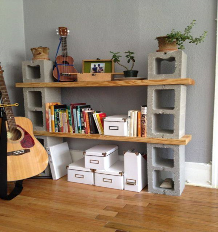 Say goodbye to expensive furniture and say hello to the beautiful world of cinder block. These creations combined with low budget of materials, it turns out that there are lots of things that you can make with these cinder blocks to give your home and garden a surprisingly wonderful upgrade. Here are the following tips and tricks might just surprise you.  40 CREATIVE USES OF CINDER BLOCK IN YOUR HOME AND GARDEN