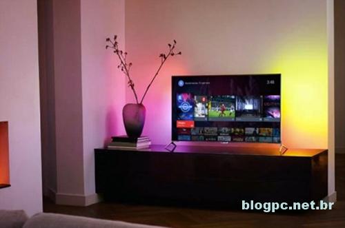 Philips oferece o Ambilight em seus televisores