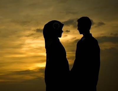 dp bbm romantis islami