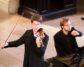 Michael Foyle, Maksim Štšura - photo Alastair Merrill