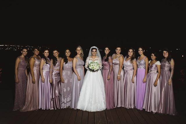 casamento real, porto vittoria, madrinhas, rosa