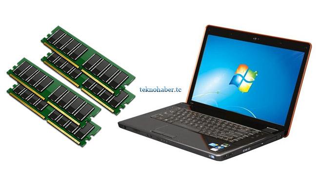 Laptoplarda ram değişimi