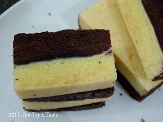 Kue Cake Lapis Keju