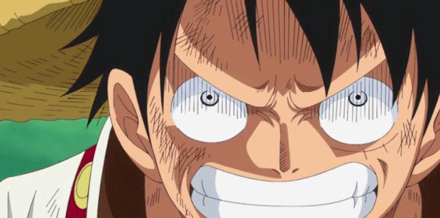Luffy e Sanji One Piece