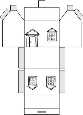 sous mon abre  Maisons en papier