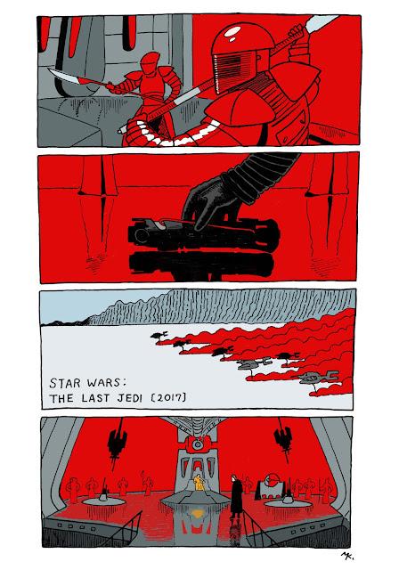 『最後のジェダイ』は赤い