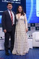 Madhuri Dixit Nene in designer Anarkali Dress at FICCI Awards 2017 016.JPG