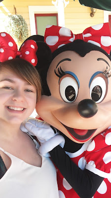 Selfie with Minnie Mouse