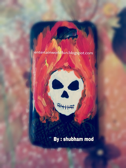 How To Decorate And Paint Mobile Cover Case