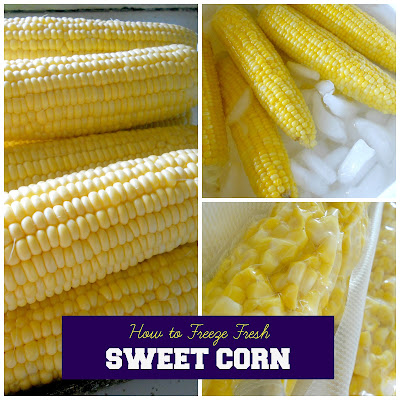 how to freeze fresh sweet corn (sweetandsavoryfood.com)