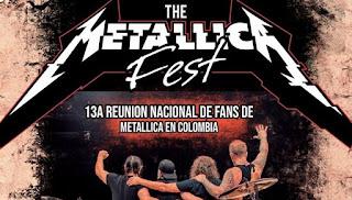 Reunión de Fans de METALLICA en Colombia 2018 1