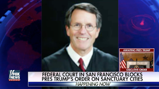 Sanctuary Cities Fight: Judge Who Blocked Trump Order A Democrat Activist