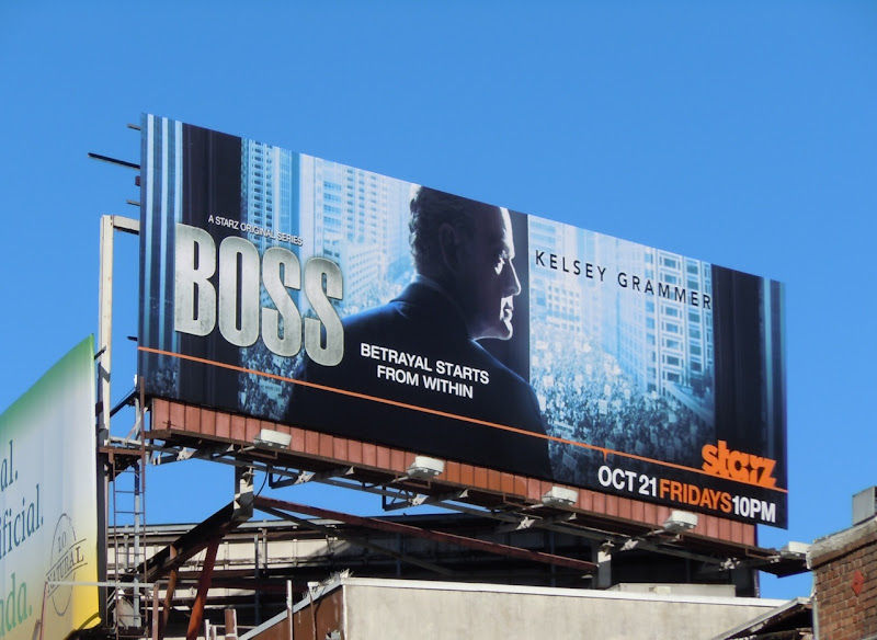 Boss TV billboard