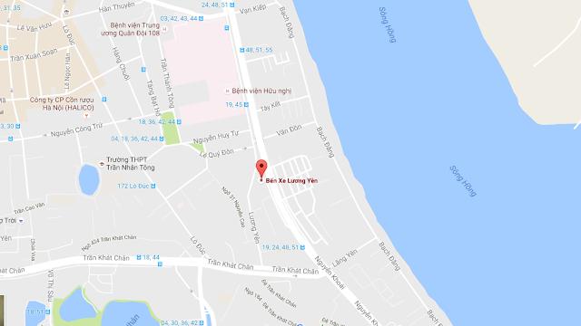 Vị trí đắc địa dự án chung cư Sun Grand City Lương Yên