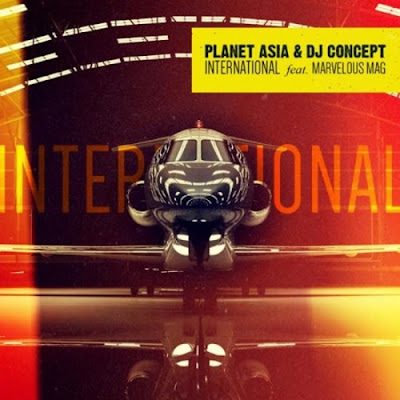 Planet Asia & Dj Concept feat. Marvelous Mag - International (Single) [2016]