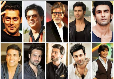 Some of the most desirable Bollywood stars