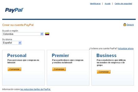 Paypal Espanol Crear Cuenta
