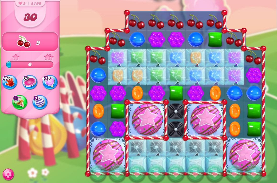 Candy Crush Saga level 5199