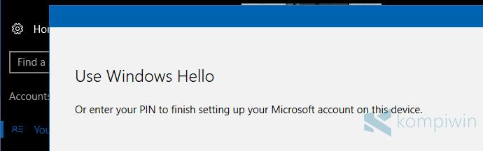 Cara Membuat Akun Microsoft dan Mengganti User Lokal ke Akun Microsoft di Windows 8.1 dan Windows 10 10