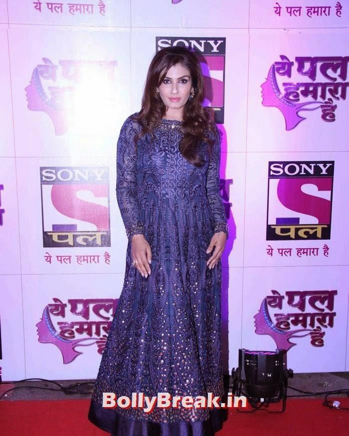 Raveena Tandon, 'Ye Pal Hamara Hai' Red Carpet Photo Gallery
